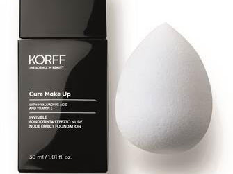 KORFF CURE MAKE UP INVISIBLE FONDOTINTA EFFETTO NUDE