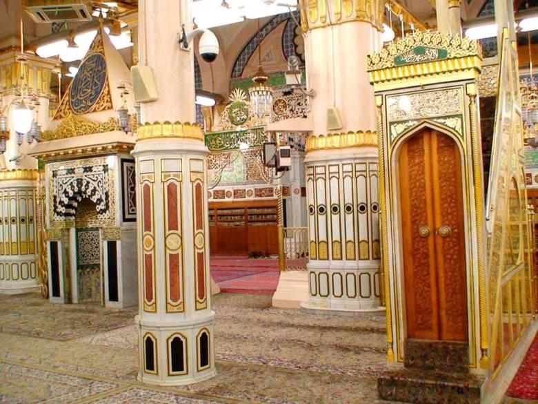 Mihrab Nabi Kembali Digunakan di Masjid Nabawi