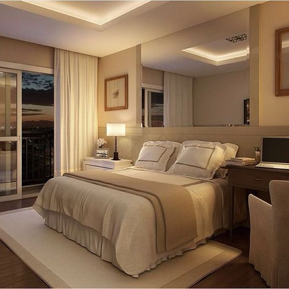 Bedroom Closet Design Ideas Newlywed Bedroom Decor Cosy Bedroom Colours Bedroom Ceiling Curtains: +40 Beige Bedroom Decor And Paint Color Combinations