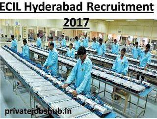 ECIL Hyderabad Recruitment