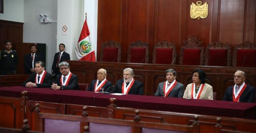 DURO GOLPE A LA CORRUPCIÓN: Tribunal Constitucional rechaza medida cautelar contra disolución del Congreso - www.tc.gob.pe