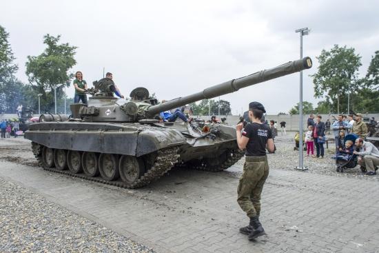 Dzień otwarty Parku Techniki Wojskowej w Zabrzu