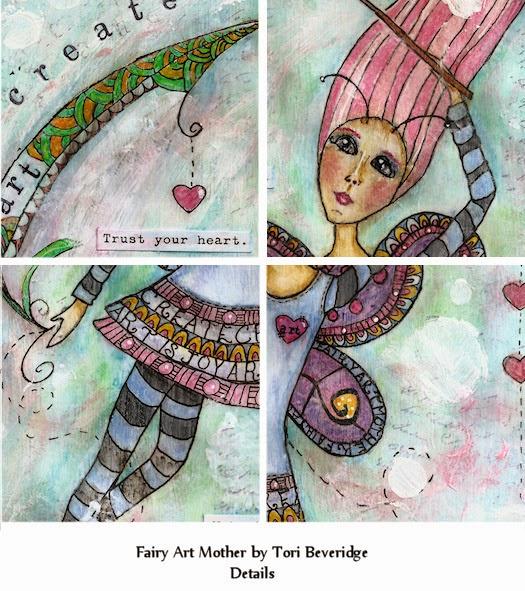Fairy Art Mother by Tori Beveridge Details