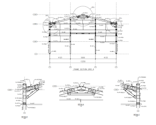 contoh shop drawing