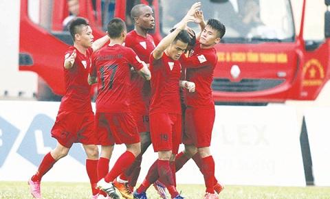 Đội bóng Hải Phòng giành chức vô địch lượt đi V.League 2016