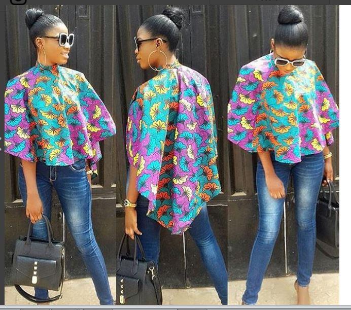 Godstime Fashion Styles: ANKARA TOPS