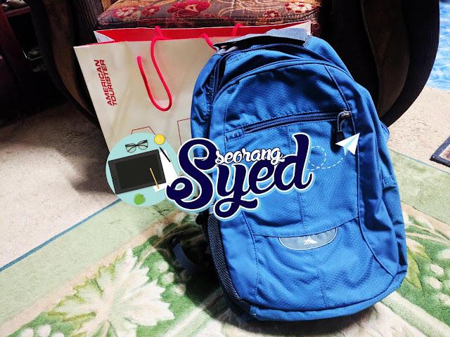 Hadiah Bagpack Yang Cantik!