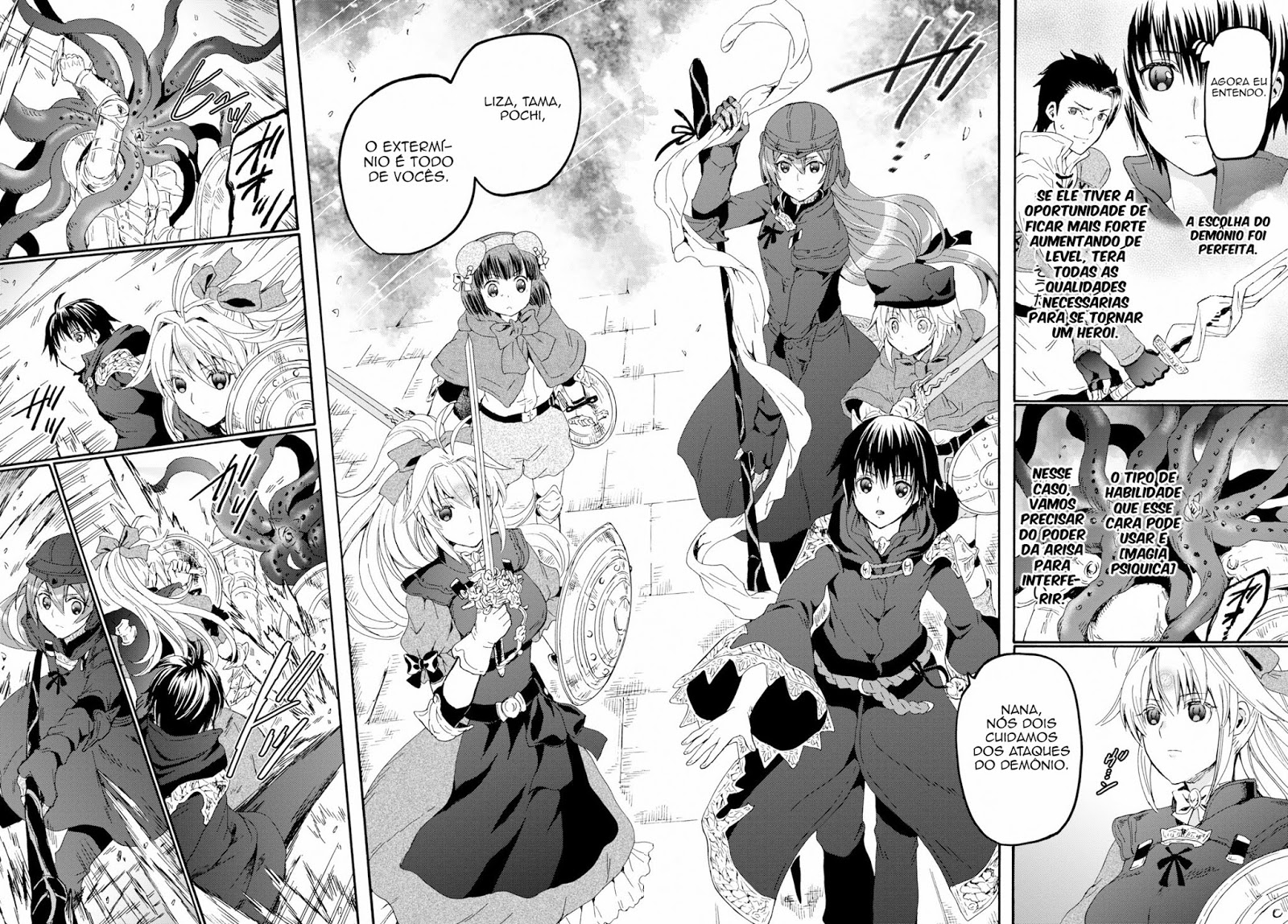Death March to the Parallel World Rhapsody Mangá Capítulo 59_