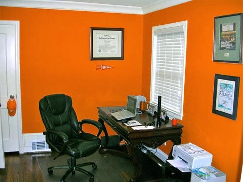 Oficina naranja