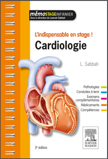 Livre : Cardiologie, L'indispensable en stage - Laurent Sabbah PDF