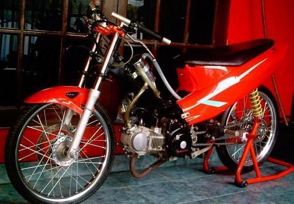 Modifikasi Suzuki Satria 2000