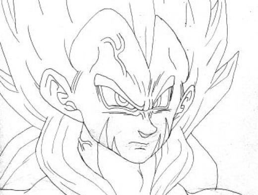 Colorir Imagens : Colorir Dragon Ball