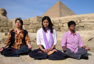 Meditation in The Pyramids