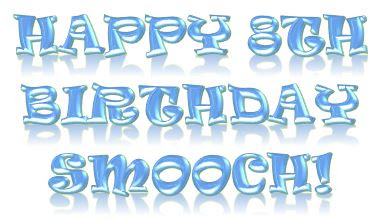 Happy 8th Birthday Smooch ©BionicBasil® The Pet Parade #298