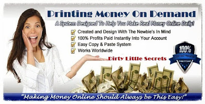 Printing Money On Demand - Dirty Little Secrets - Turbo Cash Machine