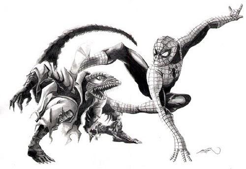 Confirmando o Lagarto em Amazing Spider-Man ~ Universo