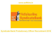 Syndicate Bank Probationary Officer Recruitment