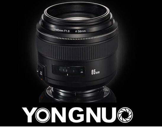 Объектив Yongnuo YN 85mm f/1.8