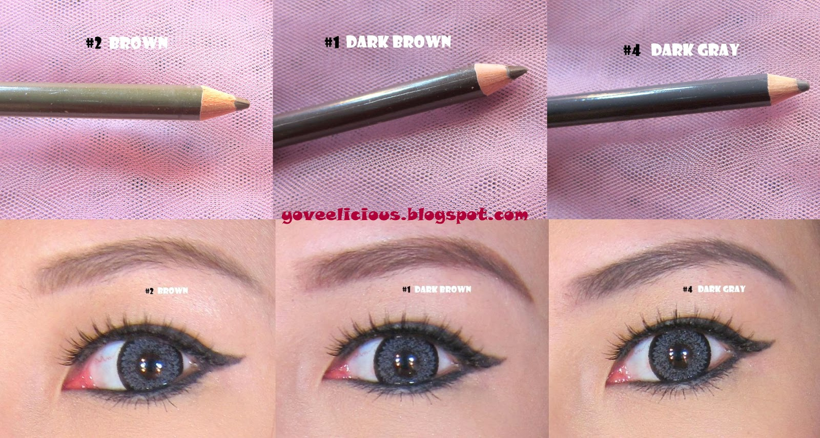 Etude Easy Brow Pencil Review And Swatches