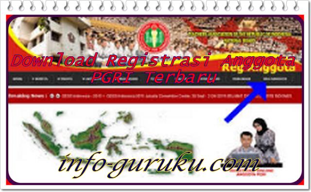 Download Registrasi Anggota PGRI Terbaru