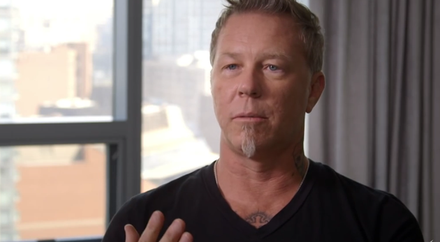 james hetfield metallica nuevo álbum