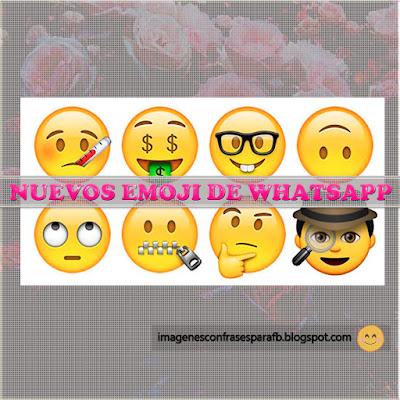 Nuevos Emoji de Whatsapp 2016