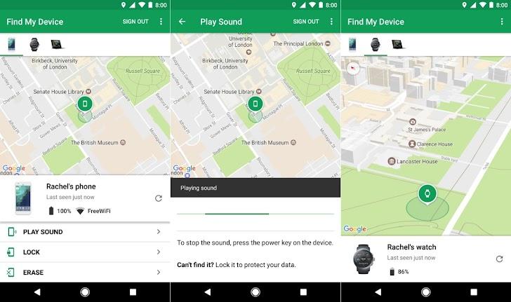 Cara Menggunakan Find My Device Untuk Melacak HP Android Yang Hilang