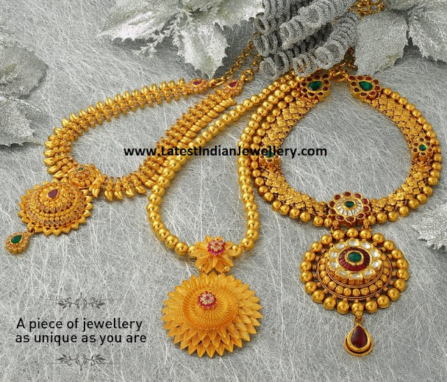 Gold Necklace Designs from Jos Alukkas
