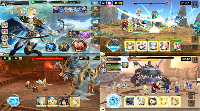 Valkyrie Connect 3D turn Based terbaru Android