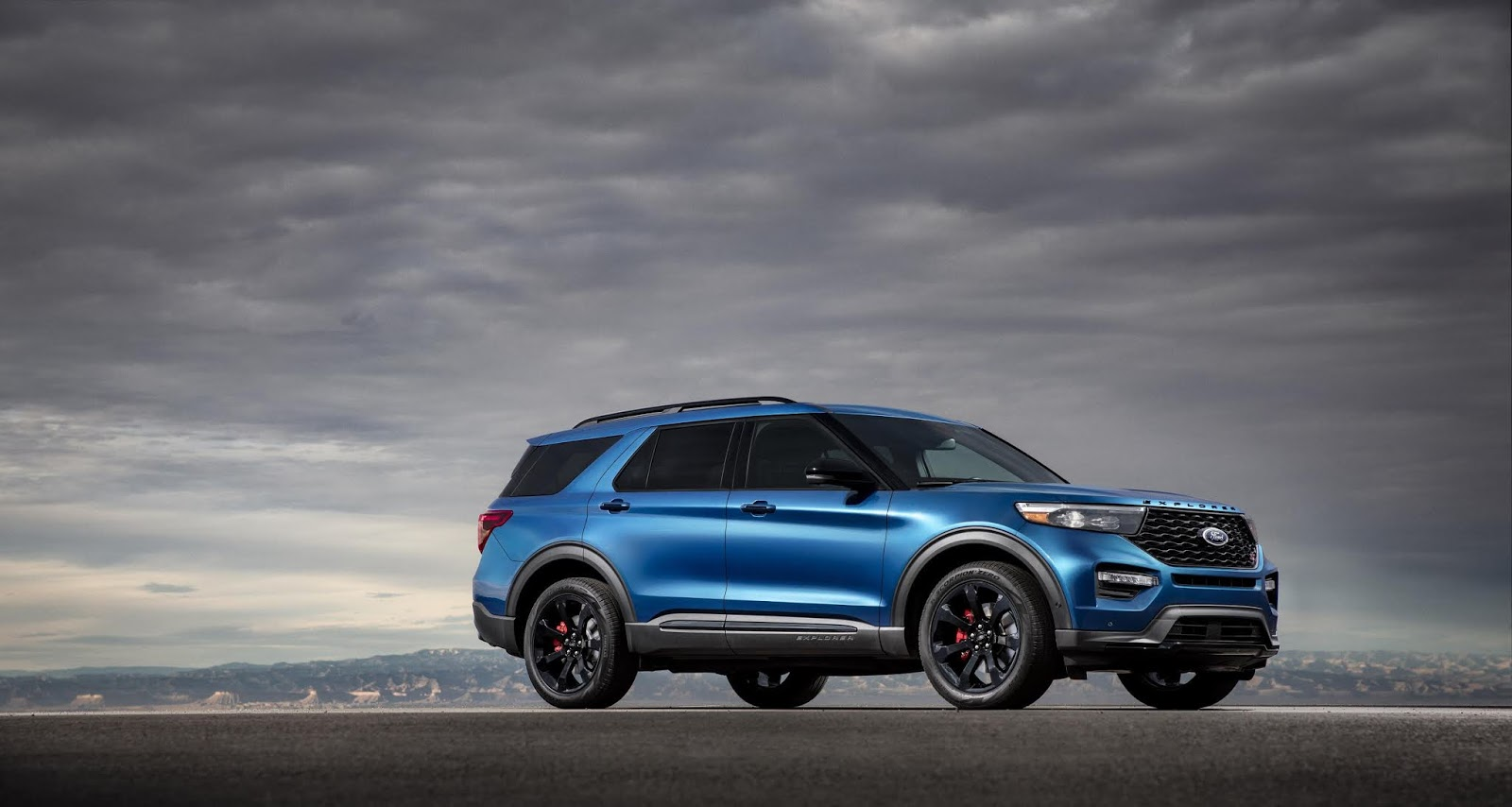 Ford Explorer ST: más potente y divertida