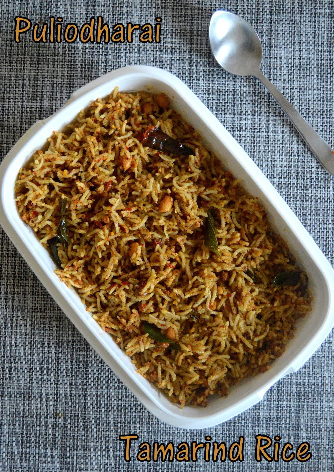 Tamarind Rice Recipe In Telugu