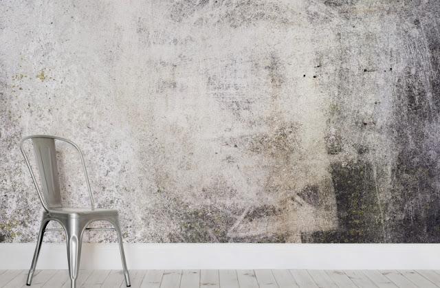 betong fototapet betongtapet ljus grå tapet vardagsrum fondtapet betongvägg