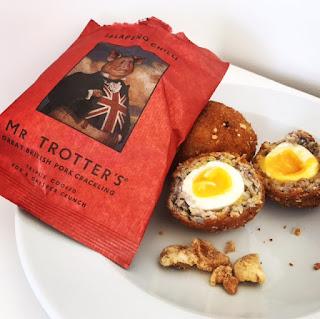 Scotch Eggs with a Pork Crackling Crumb