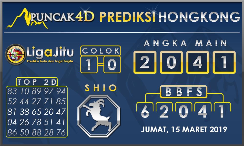 PREDIKSI TOGEL HONGKONG PUNCAK4D 15 MARET 2019