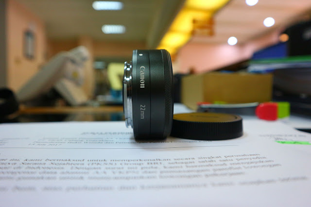 EFM 22mm F2, Lensa Wajib Pengguna Mirrorless Canon