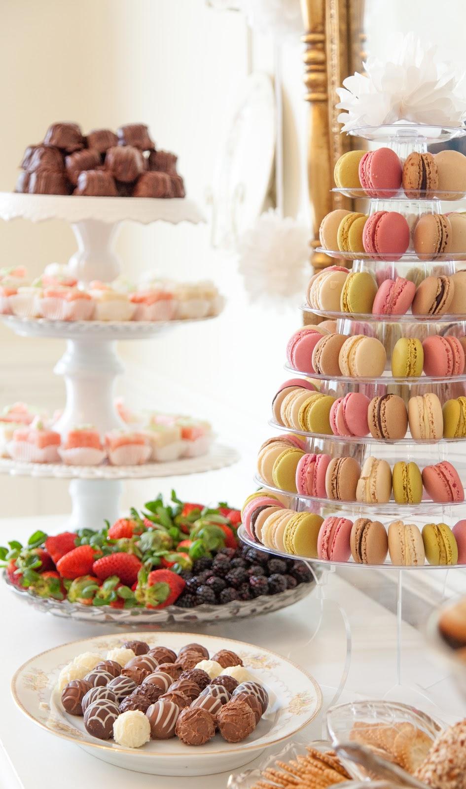 a little loveliness  emma u0026 39 s french patisserie tea party menu