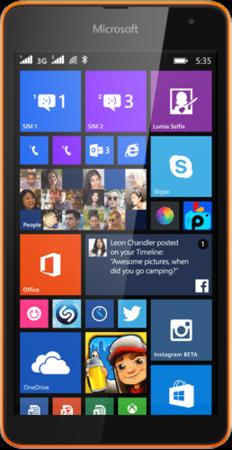 lumia 535 dual sim ponsel pertama besutan microsoft