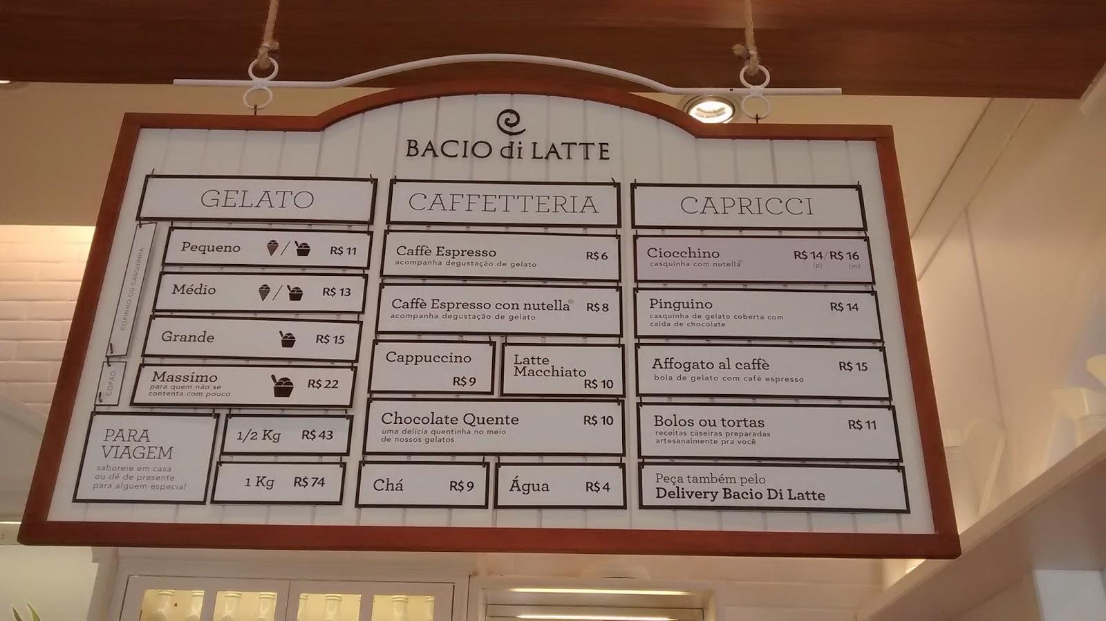 cardápio Bacio di Latte,cardápio Bacio di Latte,cardápio Bacio di Latte,cardápio Bacio di Latte