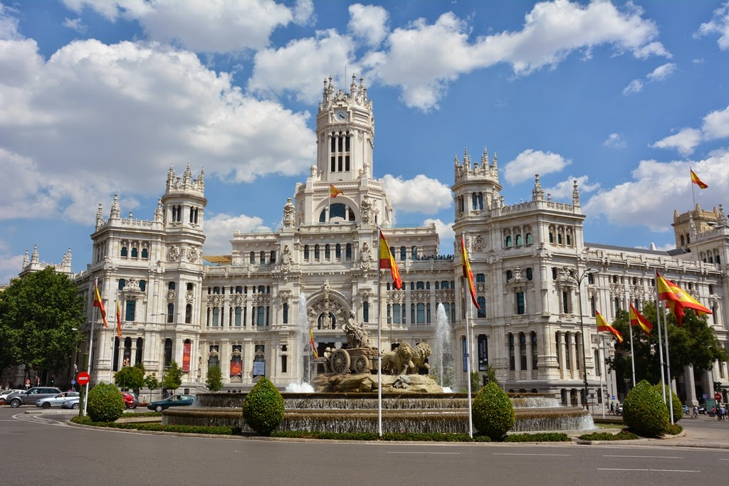 Cibeles Palace Madrid