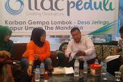 Kunjungi Jeringo Baiq Diyah Upayakan Pusat Berikan Bantuan Merata Ke Lobar