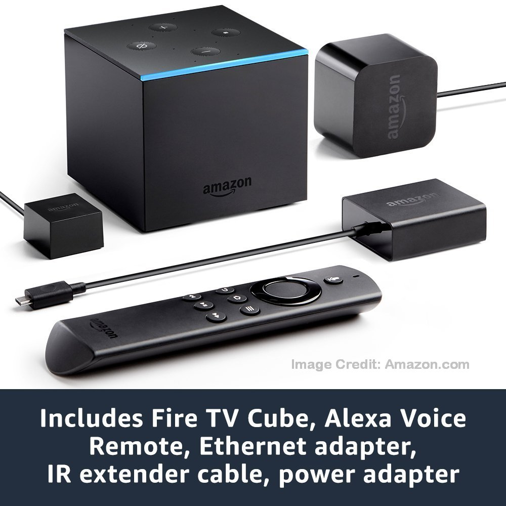 TechLaurels: Laurel Nevans' Computer Services Blog: Fire TV Cube vs