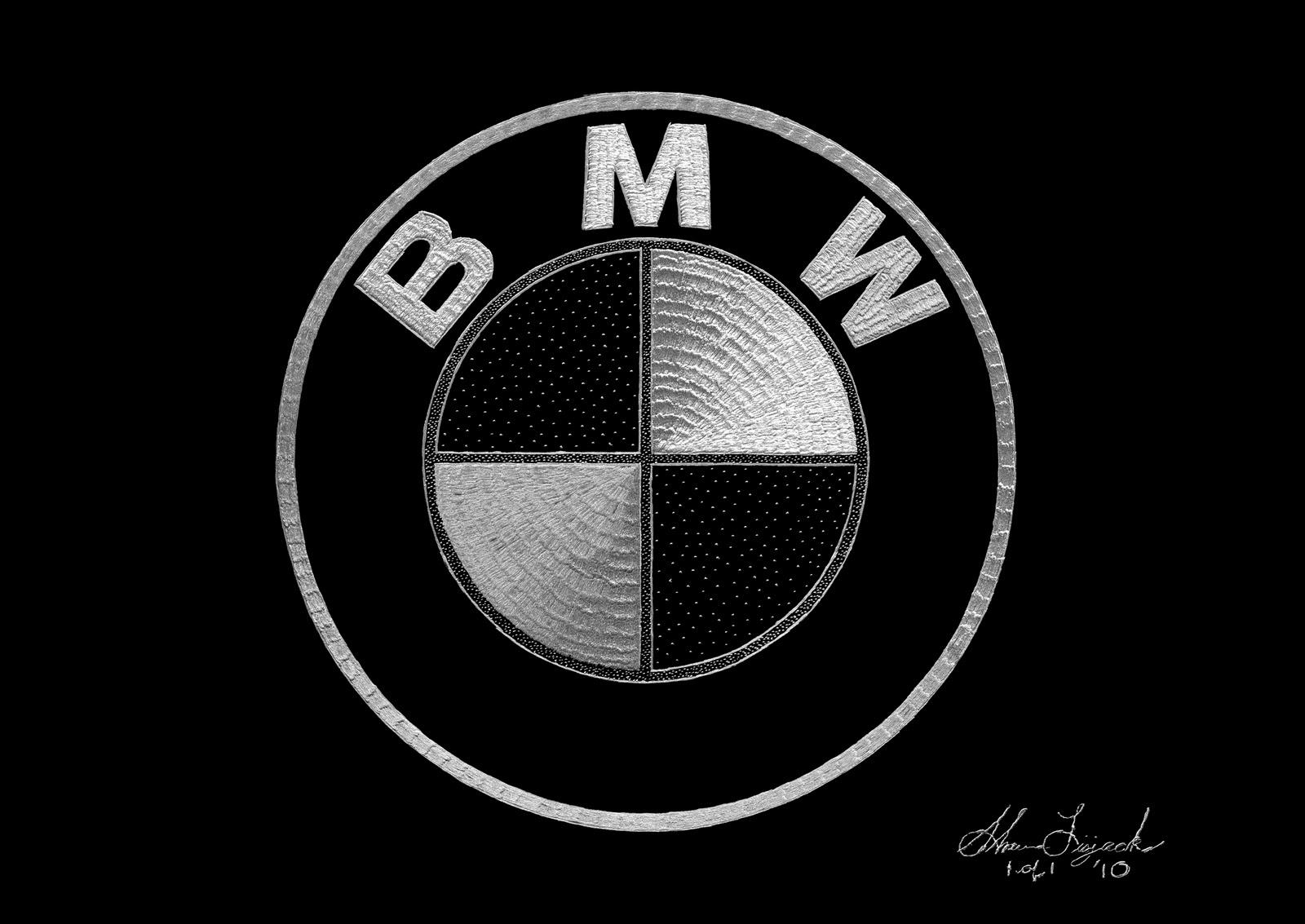 Exotic Engravings Bmw Logo