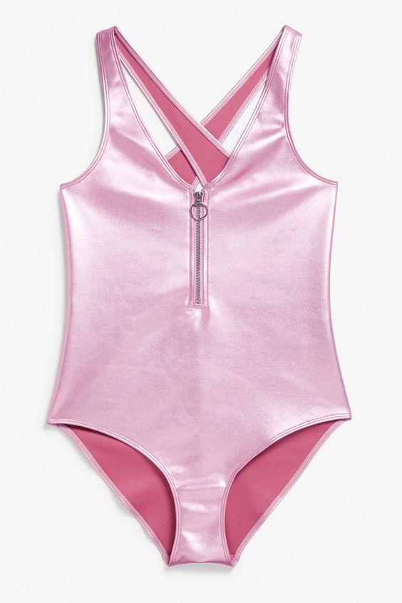 8fd597d238ad5 Metallic: Swimwear trend - Miss Rich