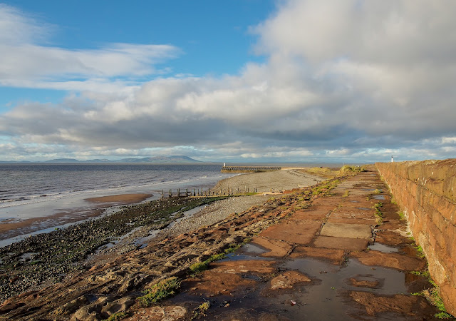 Photo of the coastal walk along the seafront at Maryport