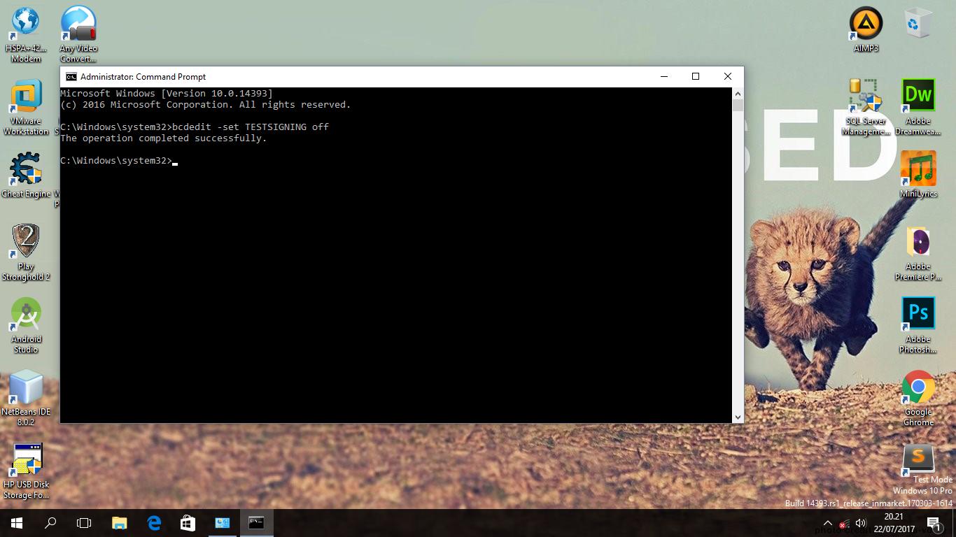 Tkj 07 Cara Mengatasi Windows 10 Test Mode