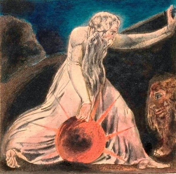 First Book of Urizen plate 21 William Blake