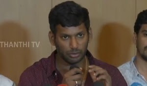 I am contesting Election to revive Film Production Profession   Actor Vishal