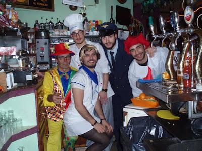 Carnaval en Bar Picaporte