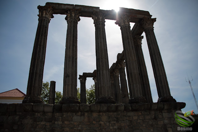 エヴォラ - ローマ神殿