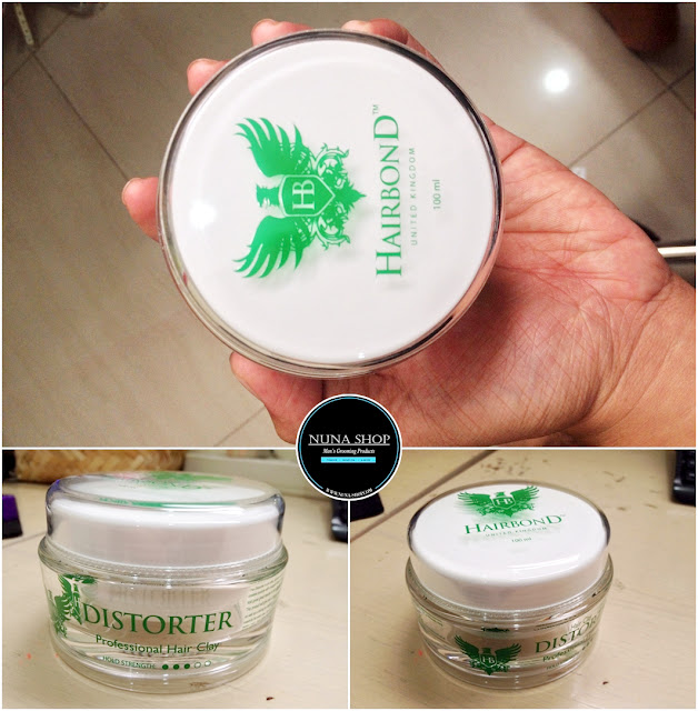 Hairbond Distorter Professional Hair Clay Pomade Review